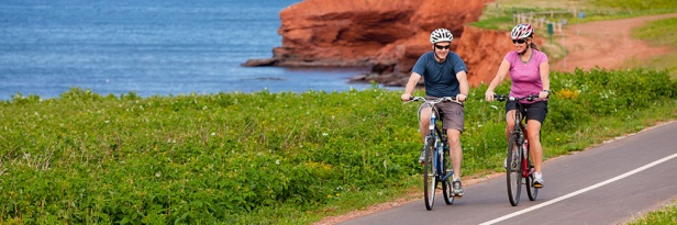 Cycling on Gulf Shore Way