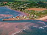Aerial view of North Rustico