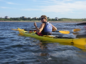 Kayak with Outside Expeditions