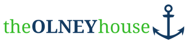 the OLNEY house logo